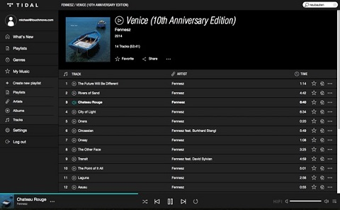 Perfect Sound Forever: Tidal- to stream or not to stream?